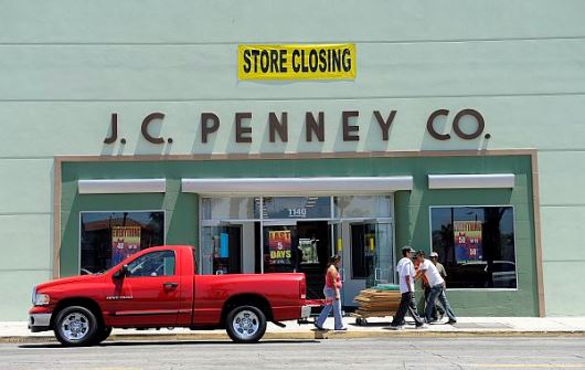 JC Penney Store Closing